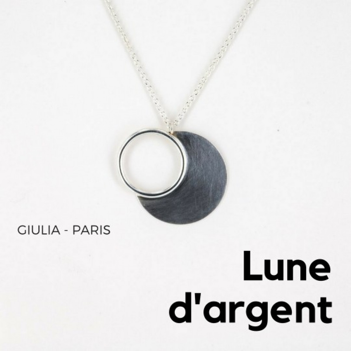 collier argent fanila fee